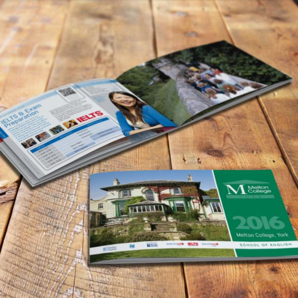 Melton College Brochure design york