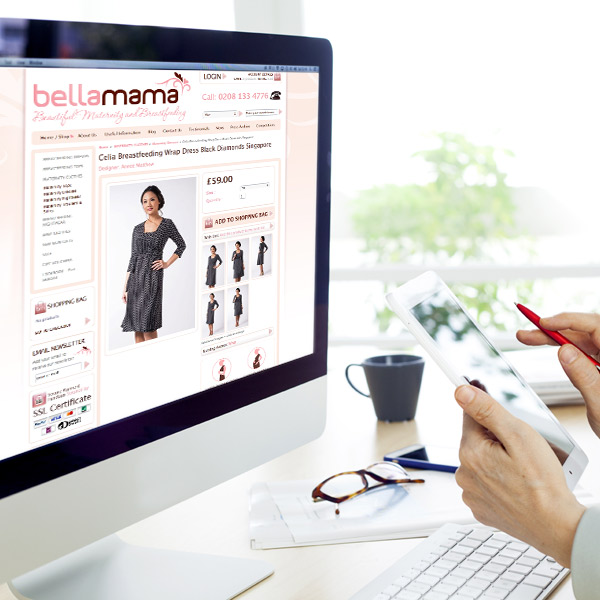 ecommerce product listings website design selby
