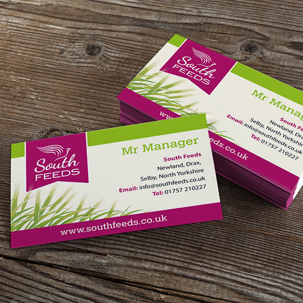 stationery and business card design and print in selby