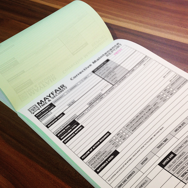 ncr pad printing for mayfair security selby