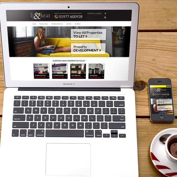 letting agent website design leeds